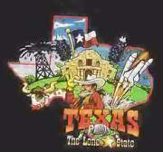 Children's Texas T-Shirt - Small