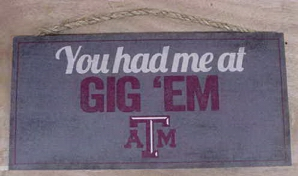 You had me at GIG 'EM ATM