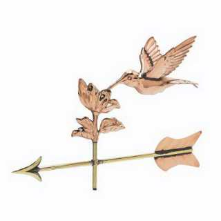 Hummingbird Weather Vane