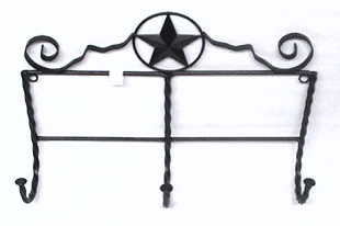 Wrought Iron Coat Rack