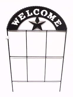 Wrought Iron Welcome Stake