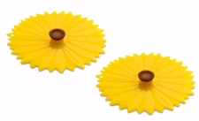 4 inch Set of 2 Sunflower Drink Covers