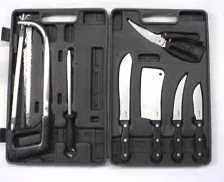 10 Pc. Game Processing Knife Set