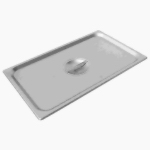 Stainless Steel Full Size Solid Lid