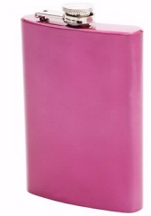 8oz SS Flask-Pink