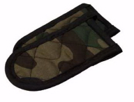 Set of 2 Camo Hot Handle Holders/Mitts