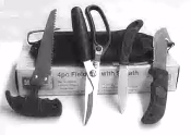 4 Piece Knife Field Set