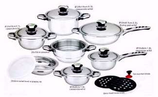 16-Piece Cookware Set  title=