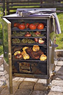 Stainless Steel Smokin Tex Pro Series Electric Smoker 1400
