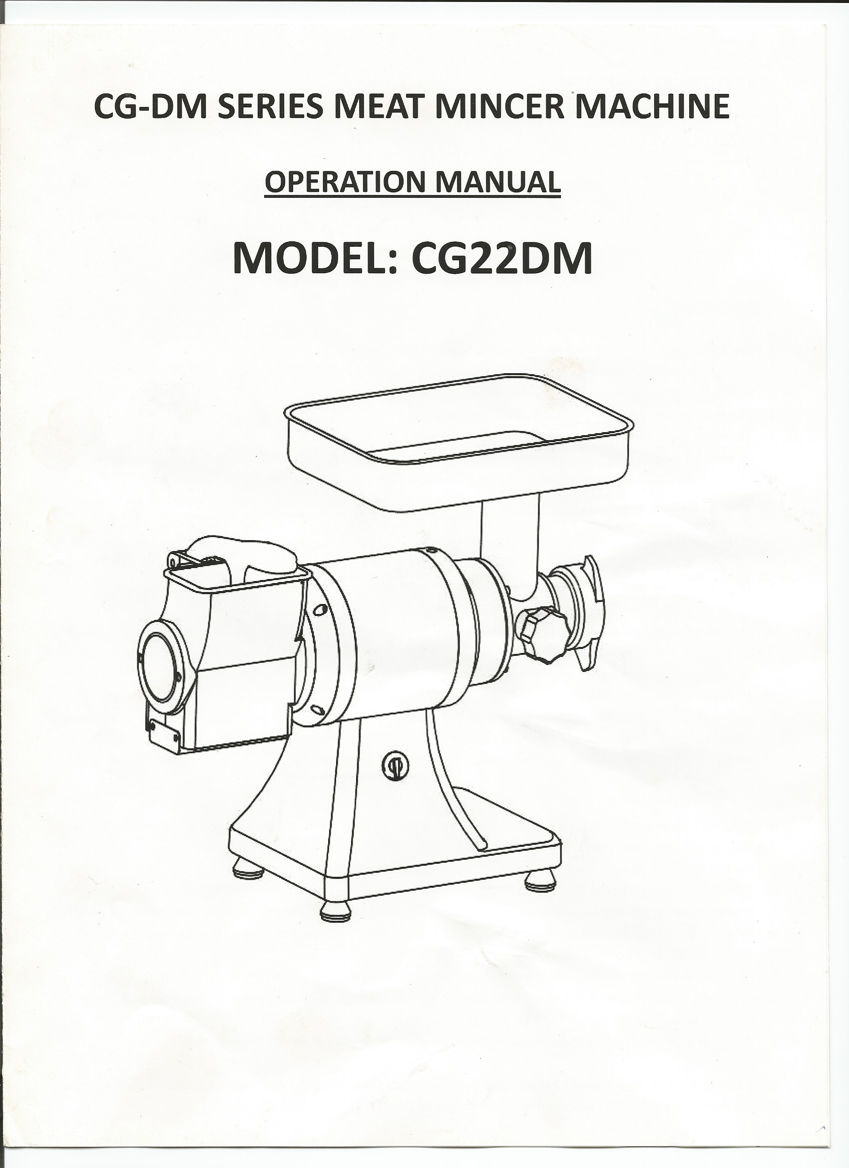 Cheese grater grinder Manual