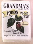 Grandma's Poison Ivy and Oak Bar