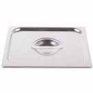 Stainless Steel Cover Half Size Solid Lid