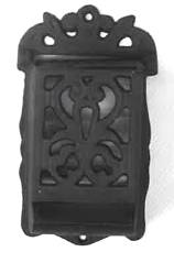 Cast Iron Matchbox Holder