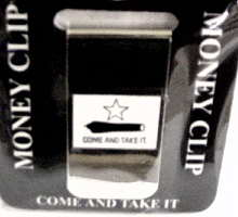 Come and Take It Money Clip