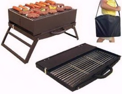 Fold & Go Charcoal Grill