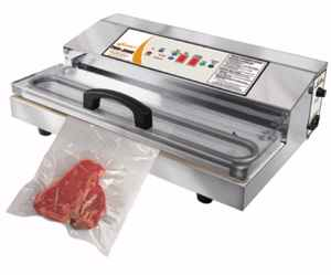 Stainless Steel Commercial Grade Vacuum Sealer w/ Extra Large Seal Bar