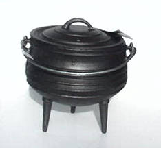 6 Qt.Round Bottom Pot with Lid