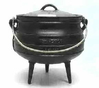 Potjie Cook Pot 6 English Gallons