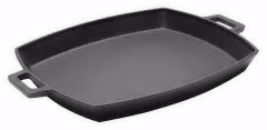Cast Iron Shallow Pan