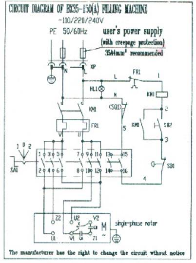 100 Lb  Commercial Food Mixer Wiring Diagram