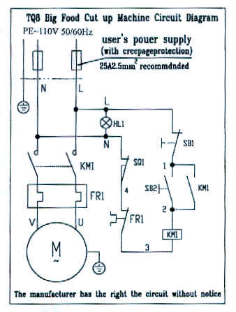 8 l. Bowl Chopper Parts Manual