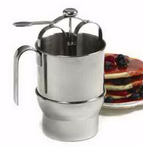 Stainless Steel Pancake Dispenser w/holder