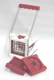 Deluxe Fry Cutter/Fruit Wedger Set