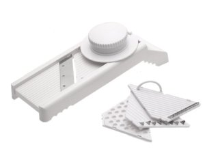 7-in-1 Mandoline Slicer/Grater with Guard