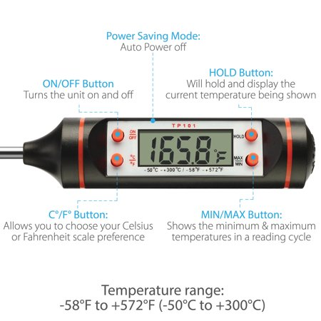 Thermometer Digital Meat