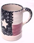 Large Texas Flag Crock Mug