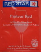 Pasteur Red Wine Yeast Packet