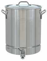 8-Gallon Stainless Steel Stockpot with Spigot