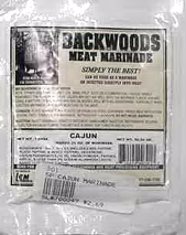Backwoods Meat Marinade