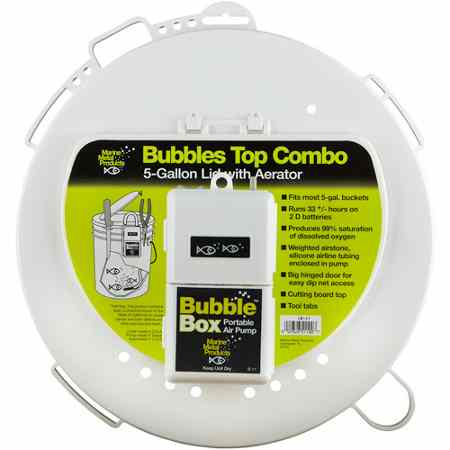 Marine Metal Bubble Box Combo