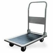 Platform Cart with Folding Handle