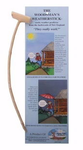 MAINE WOODSMAN'S WEATHER STICK