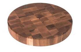 Round End Grain Chopping Block