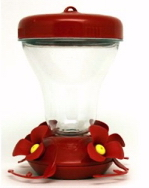 Top Fill No Spill Hummingbird Feeder