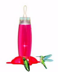 Rose Petal Hummingbird Feeder