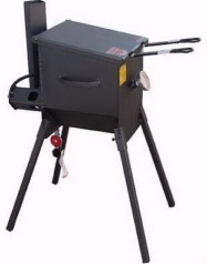 4 Gallon Outdoor Cajun Deep Fryer with legs