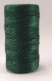 Green Braided Nylon Twine #30 1 lb