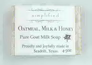 Oatmeal, Milk & Honey Pure Goat Milk Bar Soap