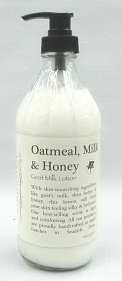 Oatmeal, Milk & Honey Goat Milk Lotion