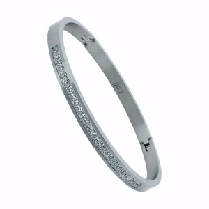 Half Eternity Bangle