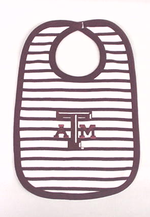 Texas A&M Stripe Bib