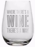 Acrylic Wine Glass -Where There