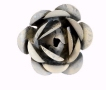 White Zinc Magnetic Garden Rose