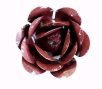 Red Zinc Magnetic Garden Rose