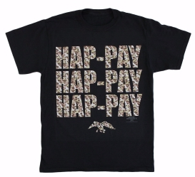 Duck Dynasty Hap-Pay CAMO T-shirt