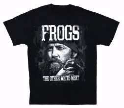 Duck Dynasty - Frogs.. The Other White Meat T-shirt